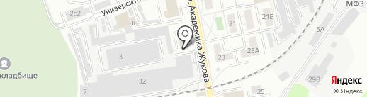 Торговая Площадь на карте Дзержинского
