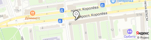 Япоша на карте Королёва