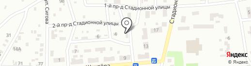 Постуховский на карте Макеевки