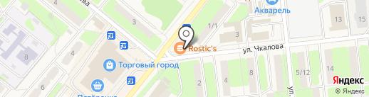 КОРАЛ ТРЕВЕЛ на карте Домодедово