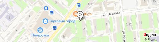 Киоск по продаже фруктов и овощей на карте Домодедово