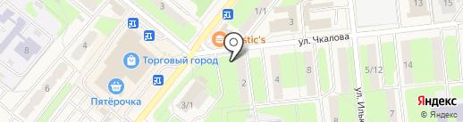 Киоск фруктов и овощей на карте Домодедово