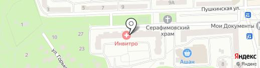 Ангелина Прекрасная на карте Королёва