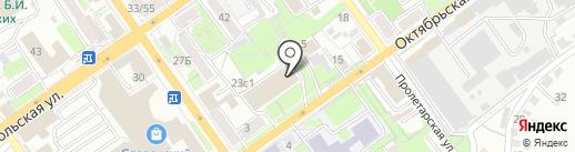 Управление Федеральной службы государственной регистрации, кадастра и картографии по Белгородской области на карте Старого Оскола