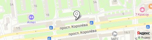 Свежий хлеб на карте Королёва