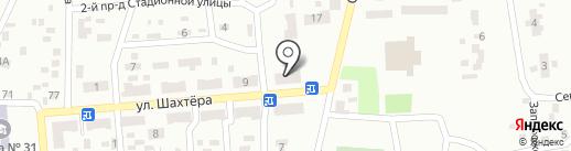 Продукты на карте Макеевки