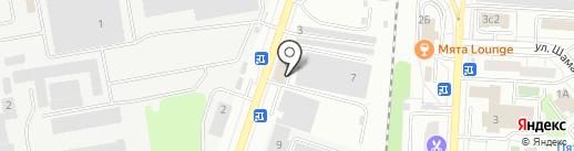 Велес Вент на карте Дзержинского