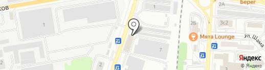 Купольный дом на карте Дзержинского