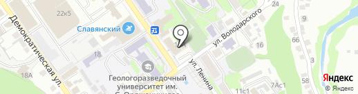 Спецодежда-Комфорт на карте Старого Оскола