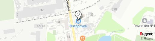 РОСС, МУП на карте Дзержинского