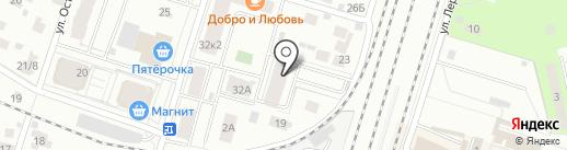 ПРОФИ-ИНВЕСТ на карте Пушкино