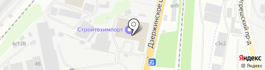 Авлекон на карте Дзержинского