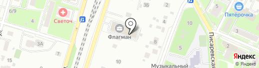 ЗОВ на карте Пушкино