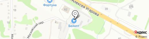 СтройПартнёр на карте Старого Оскола