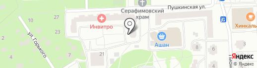 Кристалл-Лефортово на карте Королёва