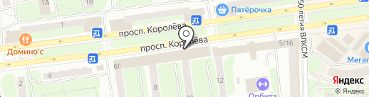 Happy Hair Studio на карте Королёва
