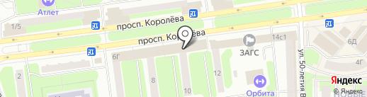 Диана на карте Королёва