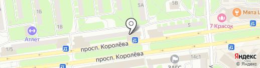МясновЪ на карте Королёва