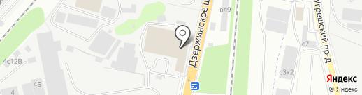 Моби-Билд на карте Дзержинского