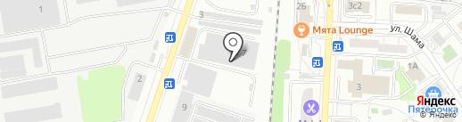 Погатовец на карте Дзержинского