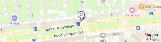 Чешская Пивница на карте Королёва