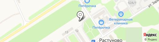 Участковый пункт №4 на карте Растуново