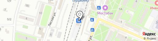 Рэкс.Регион-экспресс на карте Пушкино
