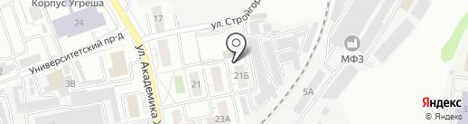Курс на карте Дзержинского