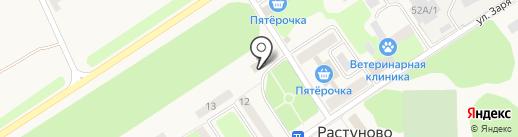 Участковый пункт на карте Растуново