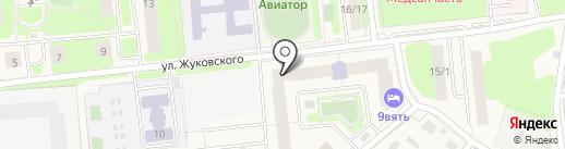 Пекарня на карте Домодедово