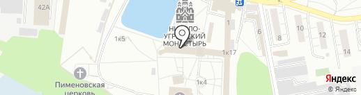 Музей–ризница, Николо–Угрешский монастырь на карте Дзержинского