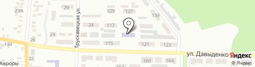 Детский сад №70 на карте Макеевки