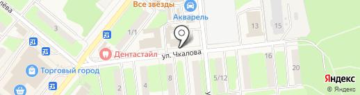 Ремонтная мастерская на карте Домодедово