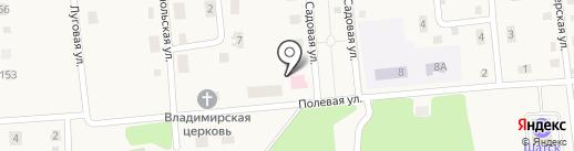 Шатская поликлиника, Ленинская районная больница на карте Шатска