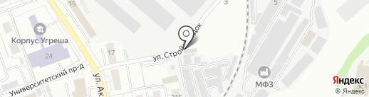 Иннова-Аудит на карте Дзержинского