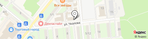 Каскад на карте Домодедово