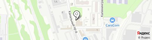 Велесавто на карте Королёва
