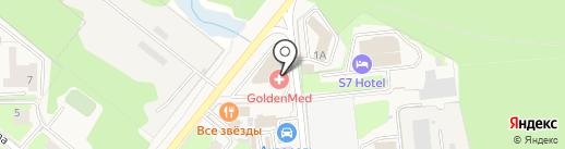 Воламир на карте Домодедово