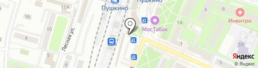 БалтБет на карте Пушкино