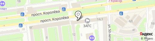 Карат на карте Королёва