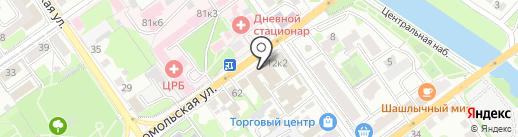 Завод профессиональных кабельных трасс на карте Старого Оскола
