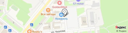 Л-ир на карте Домодедово