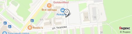 Магазин овощей и фруктов на карте Домодедово