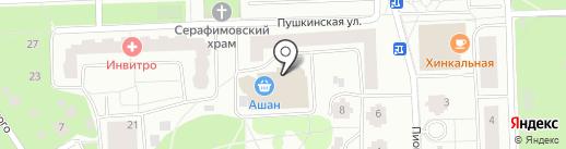 Банкомат, Райффайзенбанк на карте Королёва