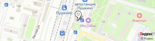 Фаст Финанс на карте Пушкино