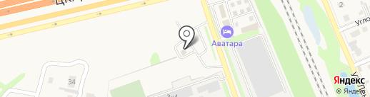Шиномонтажная мастерская на карте Домодедово