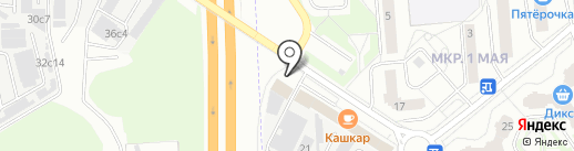 Березка на карте Балашихи