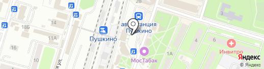 Магазин бижутерии на карте Пушкино