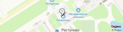 Платежный терминал, Московский кредитный банк, ПАО на карте Растуново
