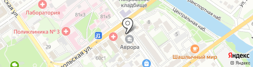 Оскол-Инструмент на карте Старого Оскола